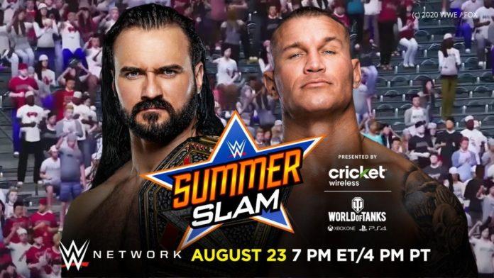 WWE SummerSlam 2020 - vor virtuellen Fans? (Bild: (c) 2020 WWE / FOX)