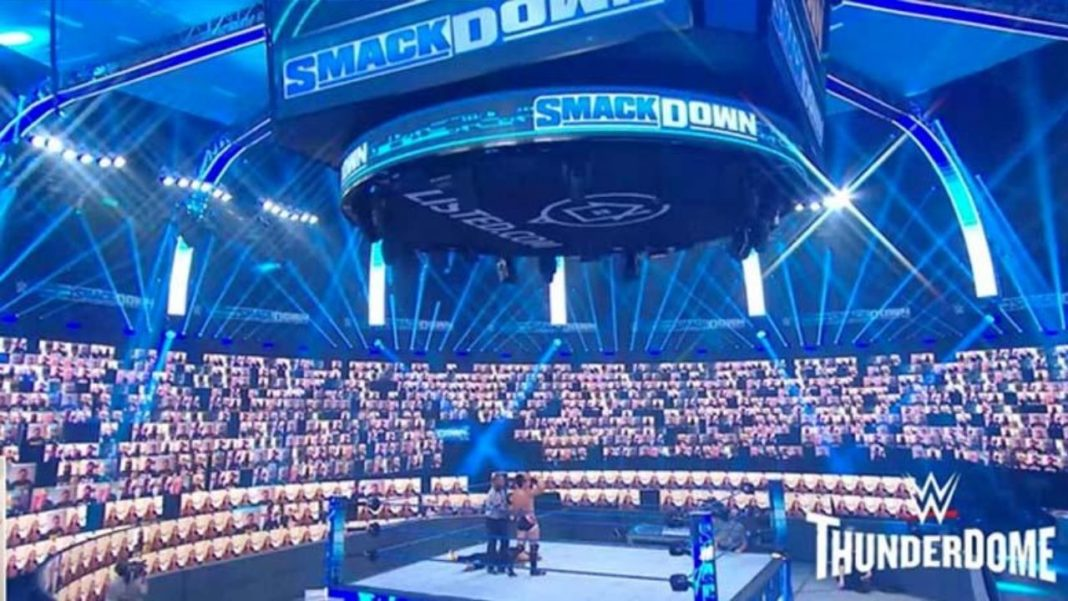 So sieht der WWE Thunderdome aus - (c) 2020 WWE. All Rights Reserved.