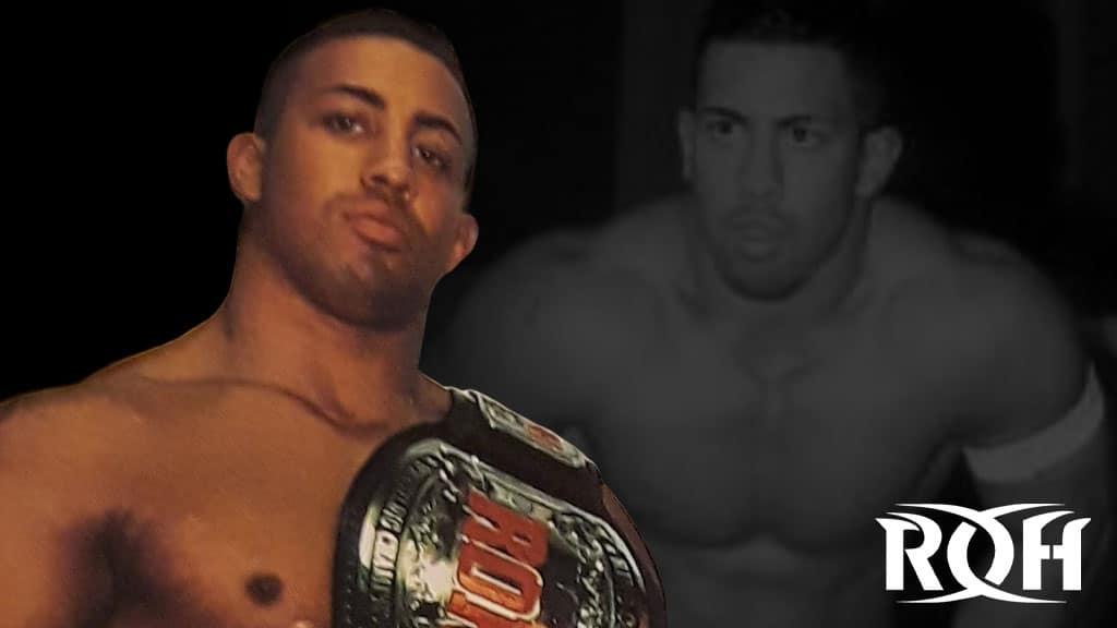 Der frühere Ring of Honor Champion Xavier (Bild: (c) 2020 ROH Wrestling)