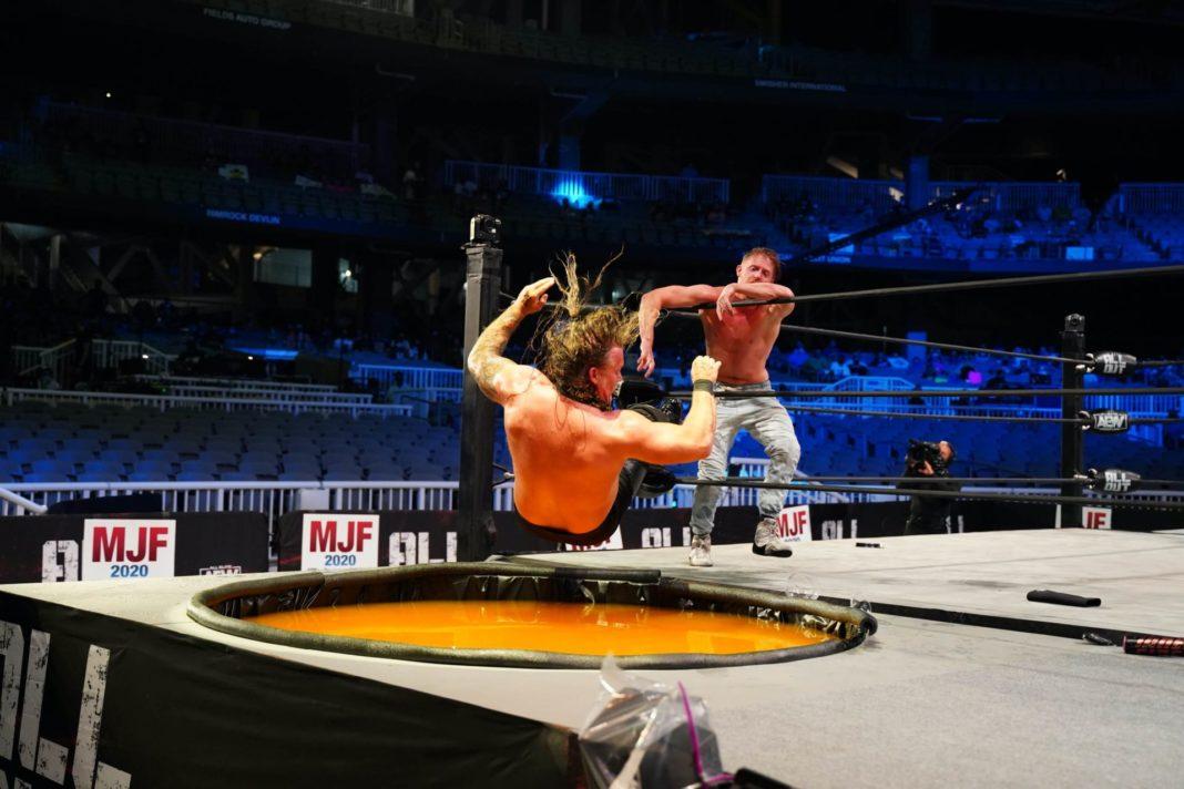 Chris Jericho geht unter - AEW All Out 2020