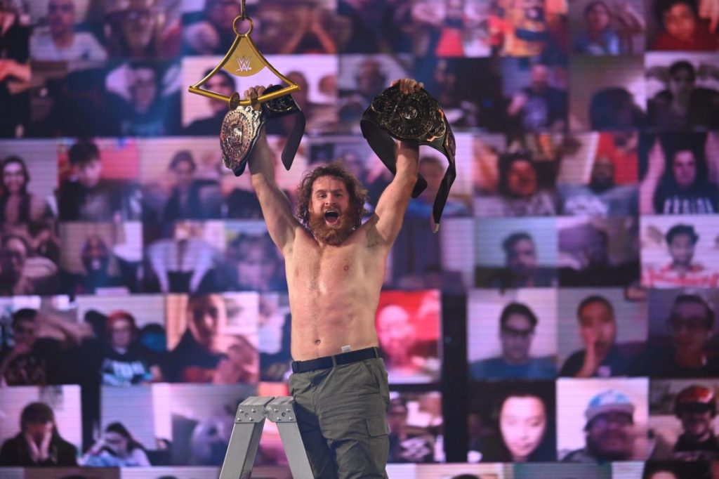 Sami Zayn - Intercontinental Champion - (c) 2020 WWE. All Rights Reserved.