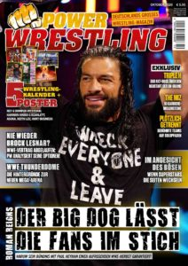 Power-Wrestling Oktober 2020 - Cover: WWE-Star Roman Reigns