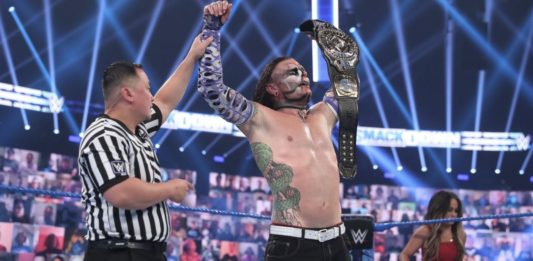 Jeff Hardy gewinnt die Intercontinental Championship im August 2020 - (c) WWE. All Rights Reserved.