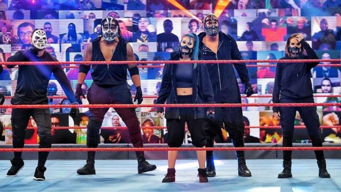 RETRIBUTION - (c) 2020 WWE. All Rights Reserved.