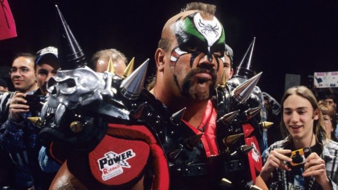Road Warrior Animal (Joe Laurinatis) - (c) 2020 WWE. All Rights Reserved.