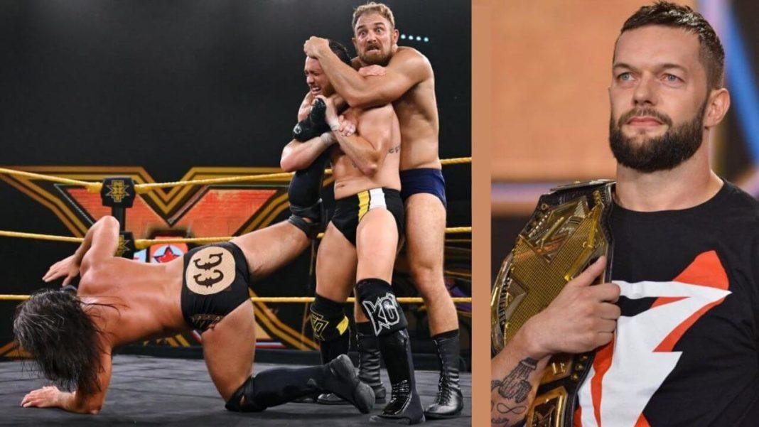 WWE NXT - 23. September 2020 - Bilder: (c) 2020 WWE. All Rights Reserved.