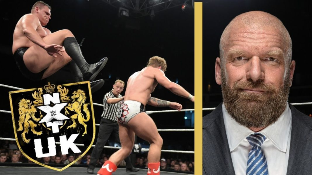Triple H über WWE NXT UK - (c) 2020 WWE. All Rights Resserved.