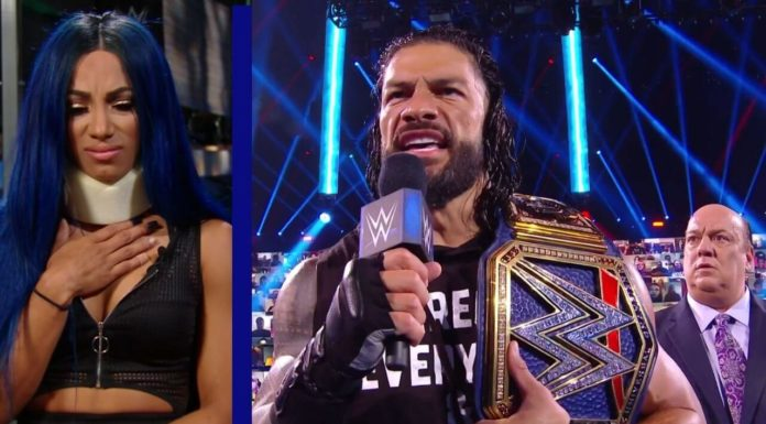WWE SmackDown vom 18. September 2020 - (c) 2020 WWE. All Rights Reserved.