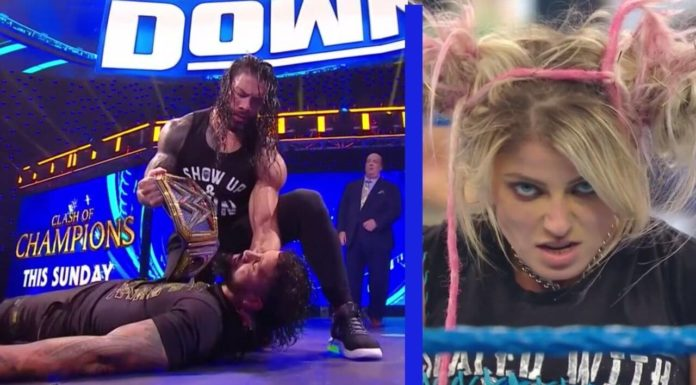 WWE SmackDown - 25. September 2020 - (C) 2020 WWE. All Rights Reserved.