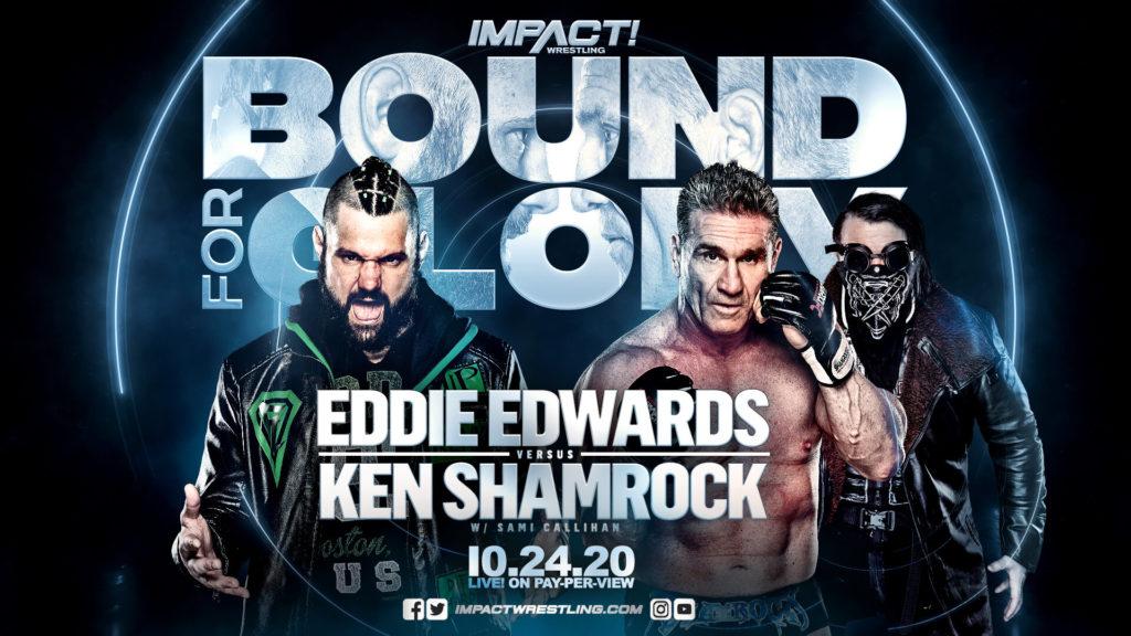 IMPACT Bound For Glory 2020 - Eddie Kingston vs. Ken Shamrock