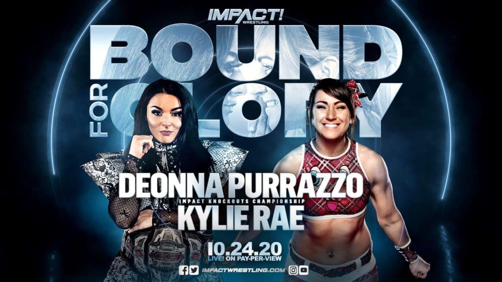 IMPACT Bound For Glory 2020 - Deonna Purrazzo vs. Kylie Rae