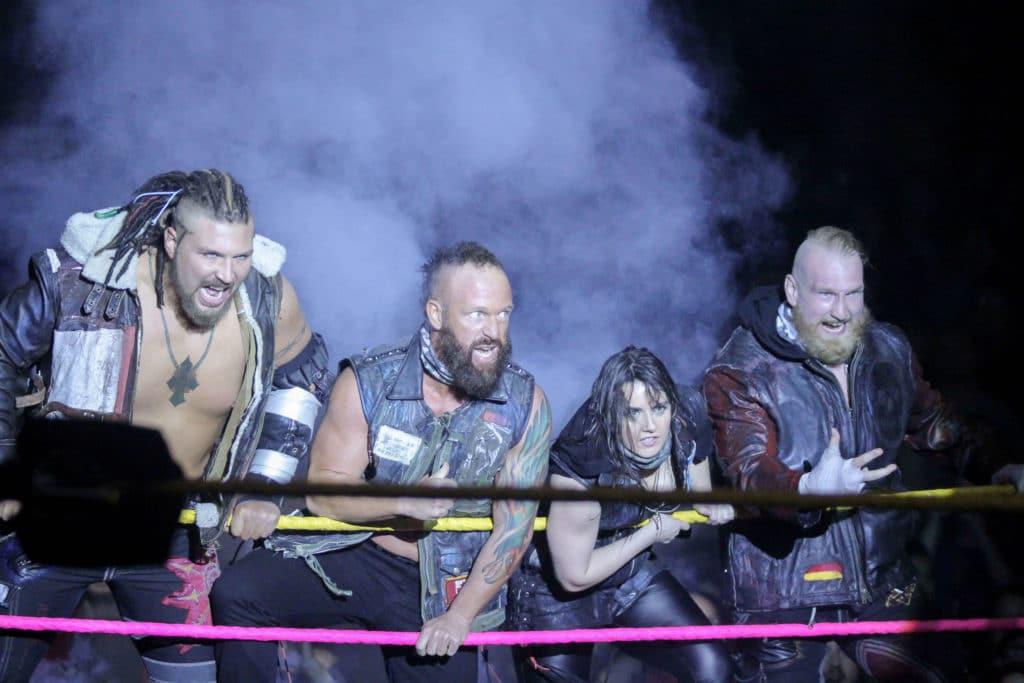 Sanity bei NXT