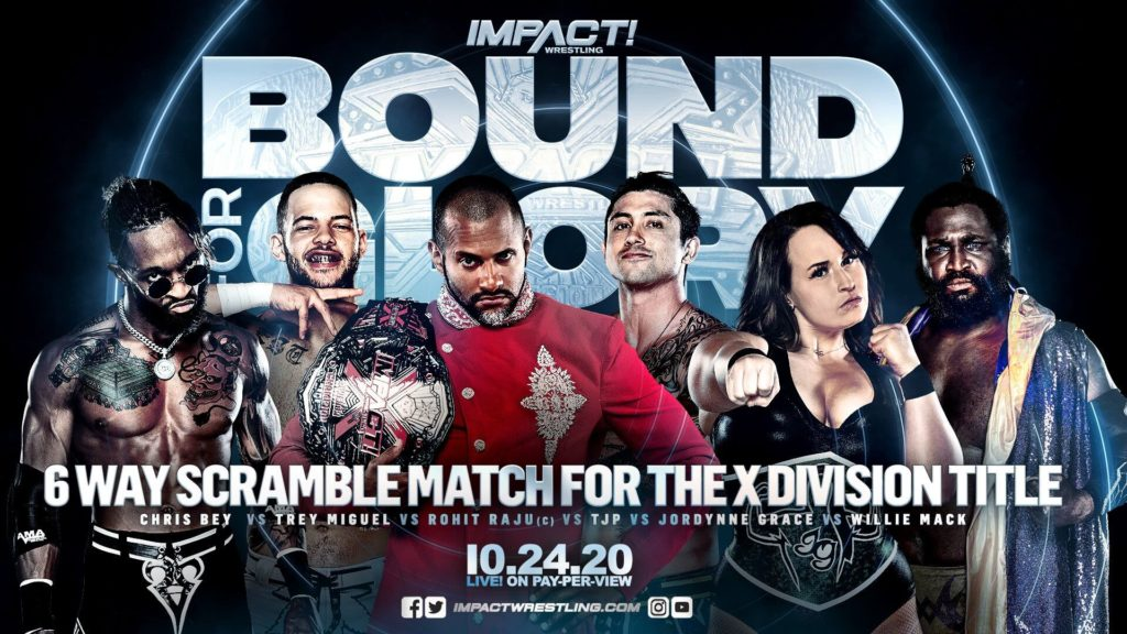 IMPACT Bound For Glory 2020 - X-Division Championship Scramble