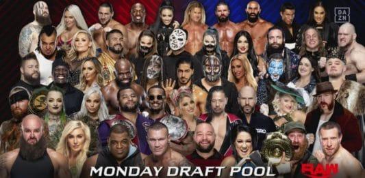 WWE Draft - Teil 2 - Raw-Pool