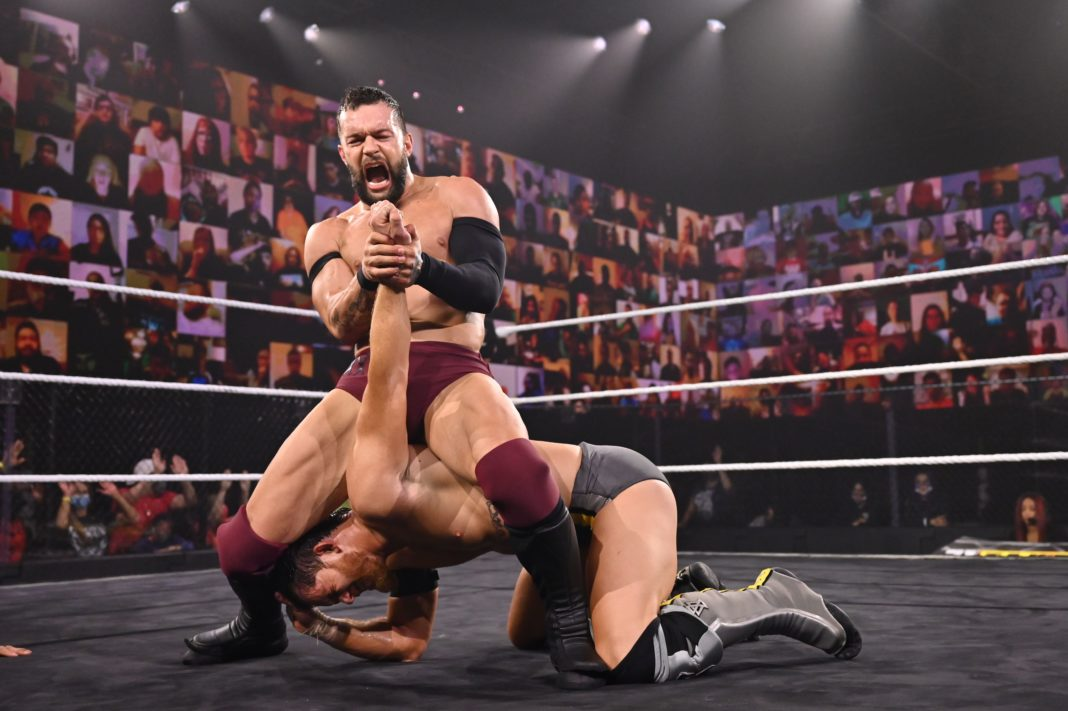 Finn Balor beim WWE NXT TakeOver 31 - (c) 2020 WWE. All Rights Reserved.