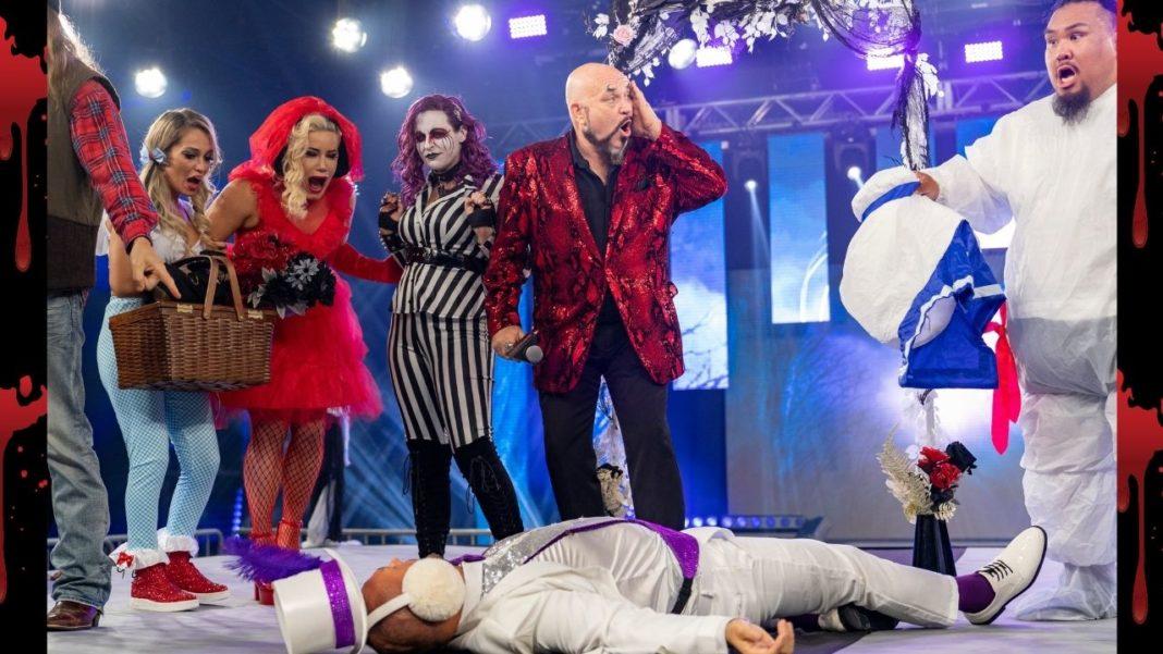 Aufregung nach dem Mord am 27. Oktober 2020 bei IMPACT Wrestling
