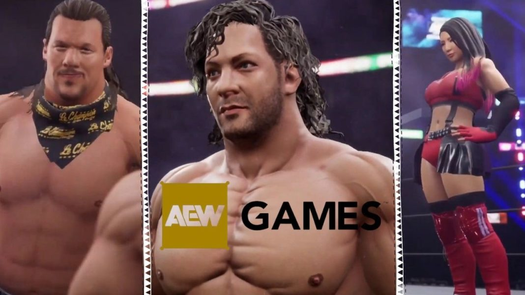 AEW Wrestling Games kommen