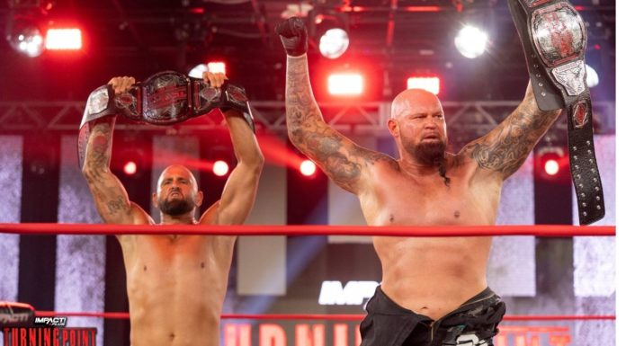 The Good Brothers werden IMPACT Wrestling World Tag Team Champions bei Turning Point