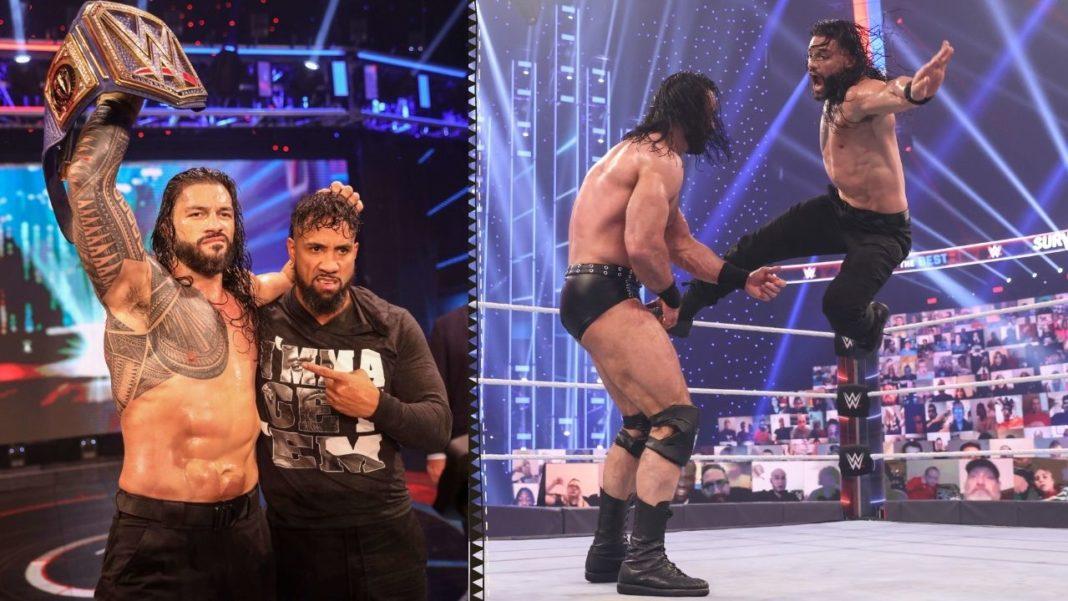 Roman Reigns ist mit der Leistung der Familie zufrieden - (c) 2020 WWE. All Rights Reserved.