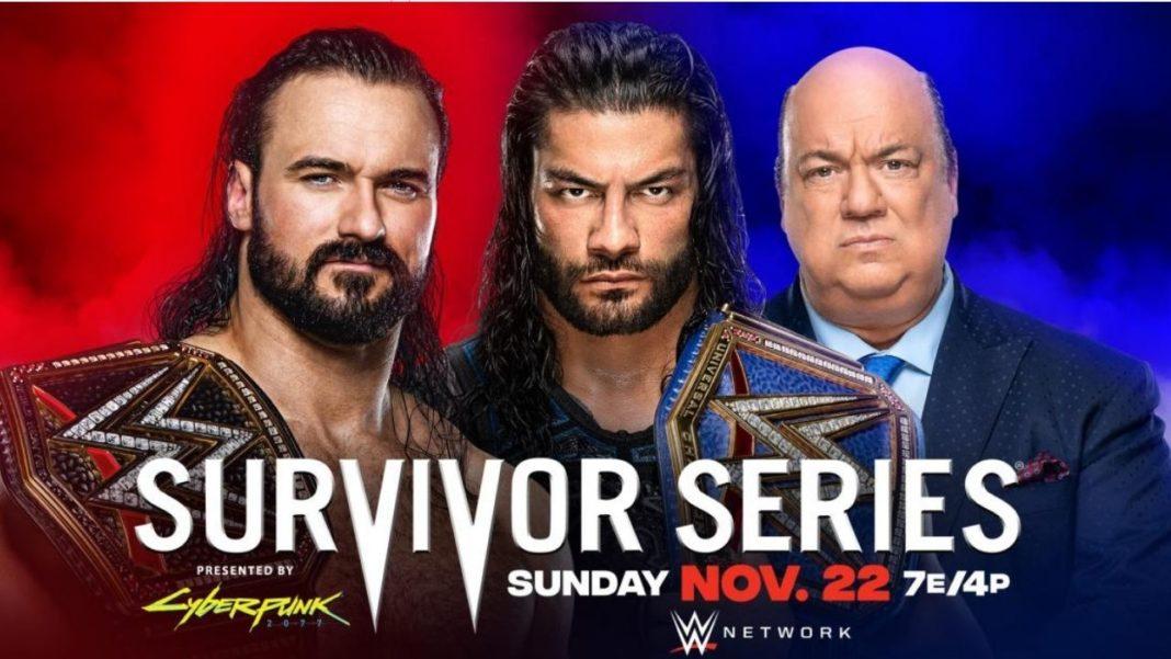 WWE Survivor Series 2020 - Best of the Best - Drew McIntyre vs. Roman Reigns