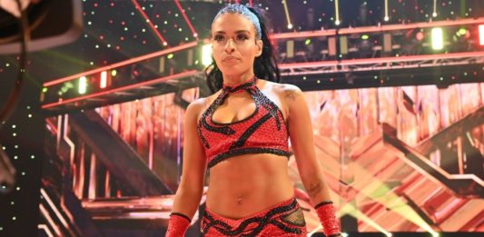WWE-Star Zelina Vega - (c) 2020 WWE. All Rights Reserved.