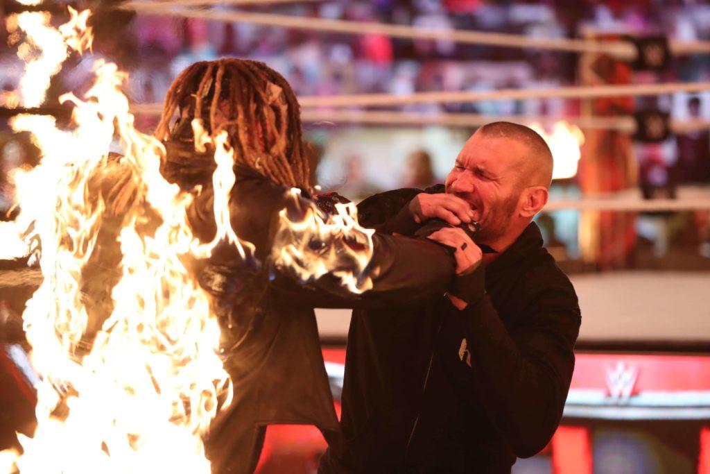 Der Fiend ist in Flammen aufgegangen - WWE TLC 2020 - (c) 2020 WWE. All Rights Reserved.