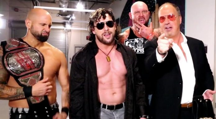 Kenny Omega, die Good Brothers und Don Callis bei IMPACT Wrestling