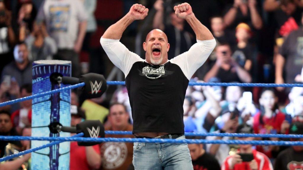 WWE Hall of Famer Bill Goldberg ist gut drauf - (c) 2021 WWE. All Rights Reserved.