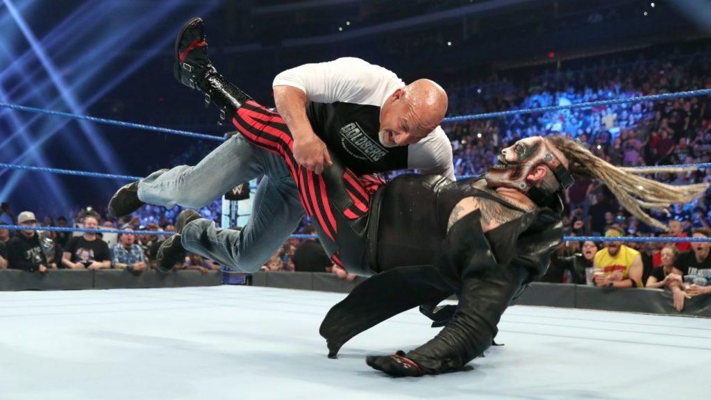 WWE-Star Bill Goldberg hat keine Angst vor Monstern - (c) 2021 WWE. All Rights Reserved.