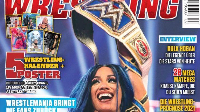 Power-Wrestling Februar 2021 - Preview - Mit WWE-Star Sasha Banks