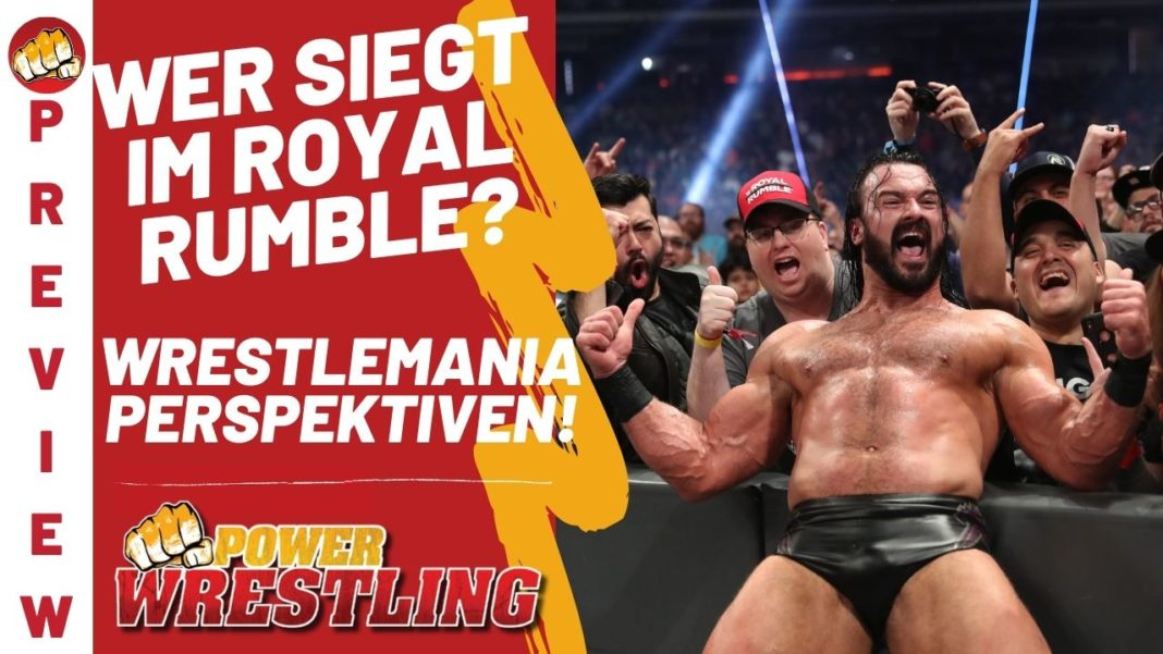 WWE Royal Rumble Preview im Podcast