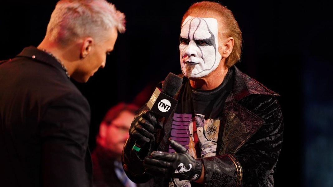 Sting mit Darby Allin - (c) 2021 Lee South, All Elite Wrestling