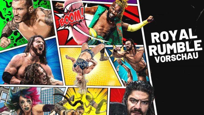 WWE Royal Rumble 2021 - Vorschau