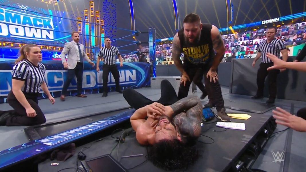 WWE SmackDown - 22. Januar 2021 - (c) 2021 WWE. All Rights Reserved.