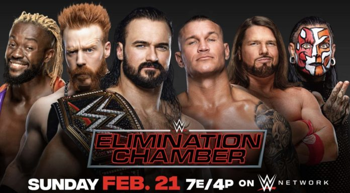 WWE Elimination Chamber 2021 - (c) WWE