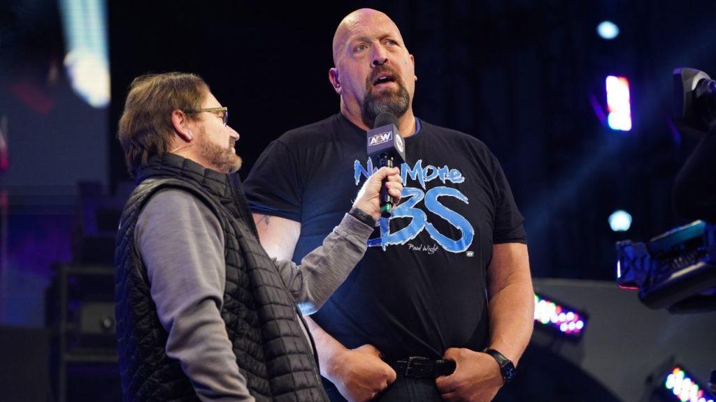 "AEW-Star Paul Wight, früher bekannt als ""Big Show"" bei WWE (Foto: AEW)"