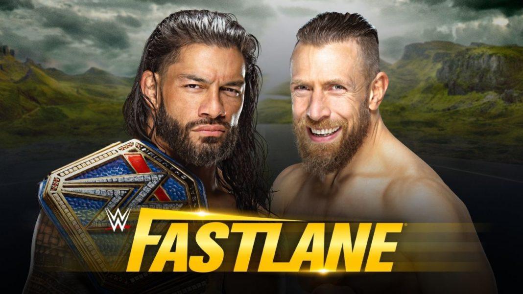 WWE Fastlane - Universal Champion Roman Reigns vs. Daniel Bryan - (c) 2021 WWE. All Rights Reserved.