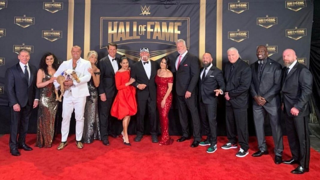 WWE Hall of Fame - Ein Teil der Klasse des Jahres 2020 - (c) 2021 WWE. All Rights Reserved.