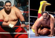 Der frühere WWE-Champion Yokozuna - (c) 2021 WWE. All Rights Reserved.