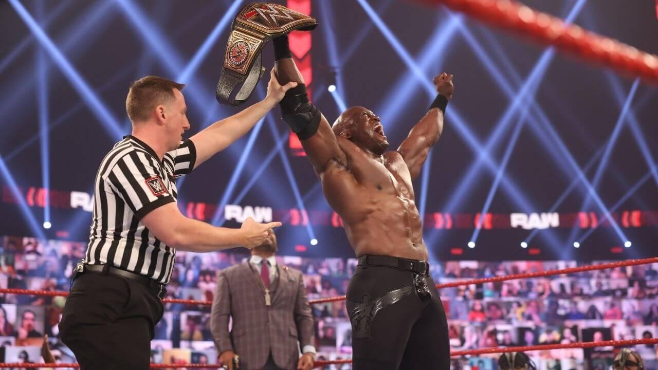 Bobby Lashley ist erstmals WWE-Champion - März 2021 - (c) WWE. All Rights Reserved.