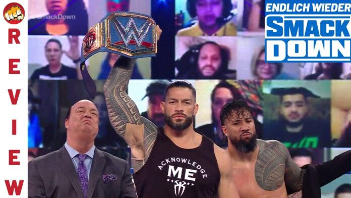 WWE SmackDown vom 9. April 2021 im Podcast-Review