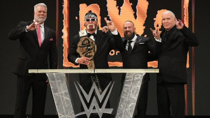 Die New World Order bei der WWE Hall of Fame 2020 - (c) 2021 WWE. All Rights Reserved.