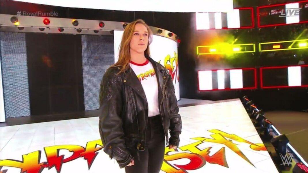 WWE-Persönlichkeit Ronda Rousey