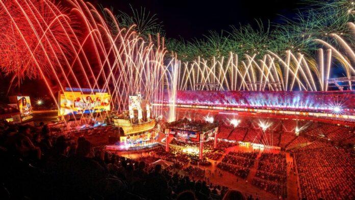WWE WrestleMania 37 im Raymond James Stadium - Tampa, Florida - (c) 2021 WWE. All Rights Reserved.