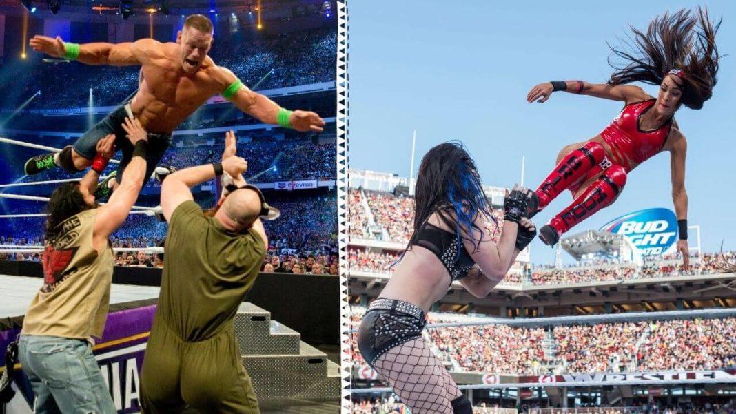WWE WrestleMania Klassiker gibt es auf ProSieben MAXX und auf WWE Network - (c) WWE. All Rights Reserved.