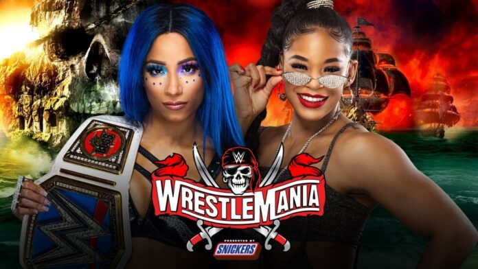 WWE WrestleMania 37 - Sasha Banks vs. Bianca Belair