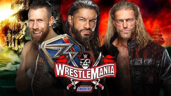 WrestleMania 37: Das Triple Threat Match um die Universal Championship