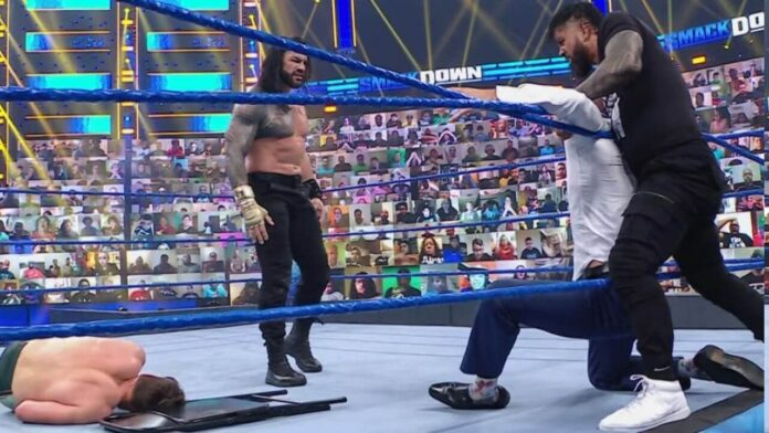 WWE SmackDown - 30. April 2021 - (c) WWE. All Rights Reserved.