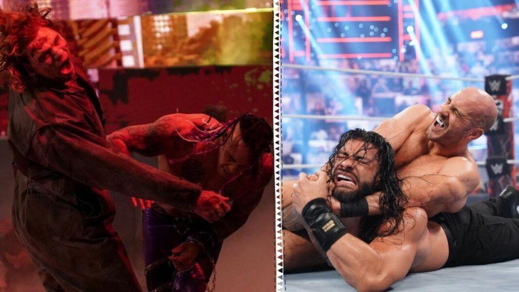 Zombies und Cesaro bei WWE WrestleMania Backlash 2021