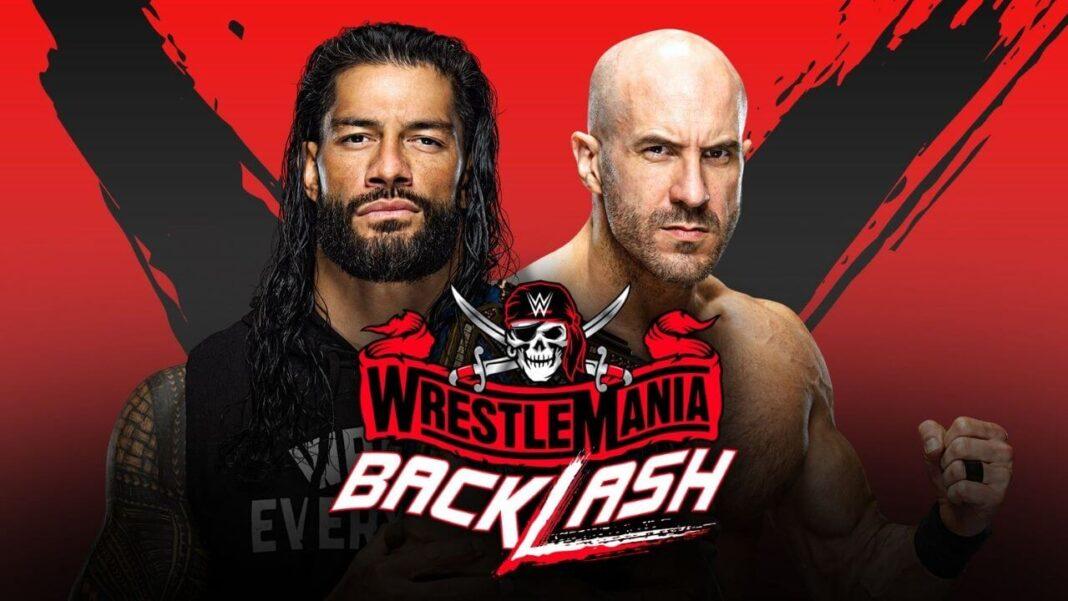 Cesaro trifft auf Universal Champion Roman Reigns bei WWE WrestleMania Backlash 2021